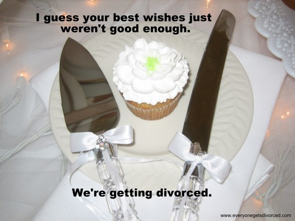 divorce announcement
