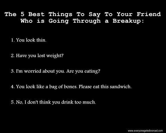 breakup humor