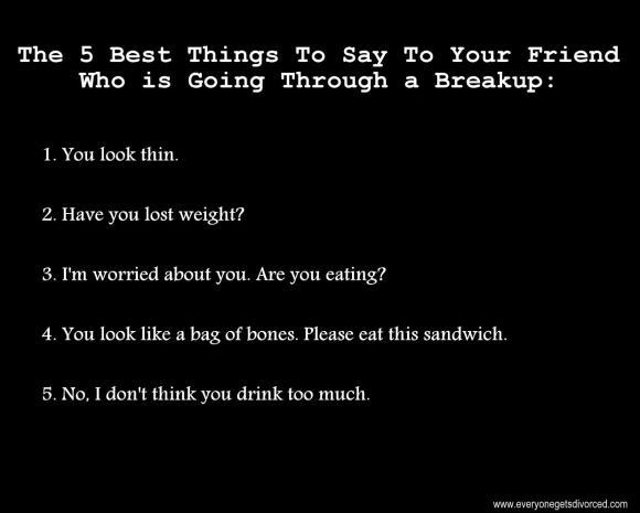 breakup humor