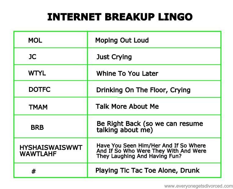 internet lingo
