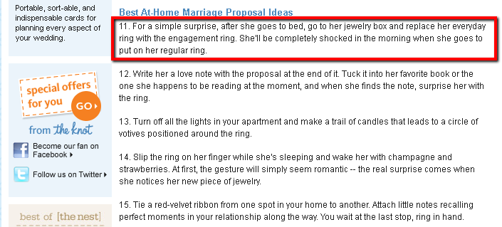 Good Ways To Propose To Hookers Everyone Gets Divorced