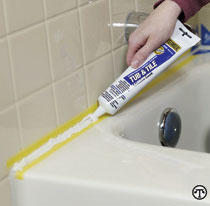 Bathtub caulk: saving marriages since never.